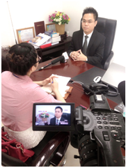 Luật sư Nguyễn Thanh Hà trả lời phỏng vấn kênh truyền hình tài chính kinh tế về vấn đề mua bán, sáp nhập doanh nghiệp
