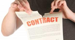 Tư vấn trường hợp hủy hợp đồng bán đất - internet