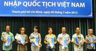Điều kiện để người nước ngoài nhập quốc tịch Việt Nam - internet